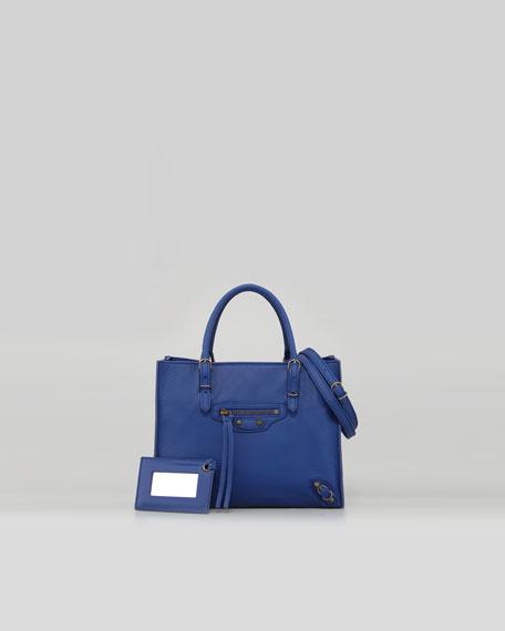 A4 Mini Magnet Tote Bag, Bleu Electrique