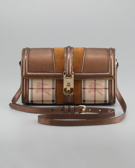 Check Crossbody Bag