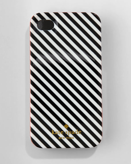 diagonal stripe iPhone 4 hard case