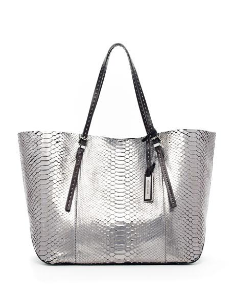 Gia Python Tote Bag