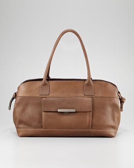 Vitello Matte Satchel Bag