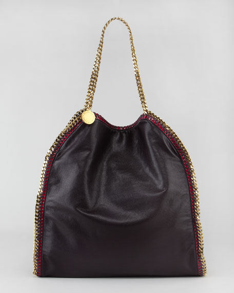 Galway Faux Leather Falabella Tote Bag