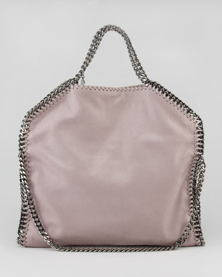 Fold-Over Falabella Tote Bag, Shell