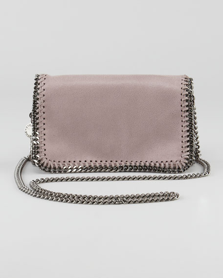 Faux Leather Crossbody Bag, Shell