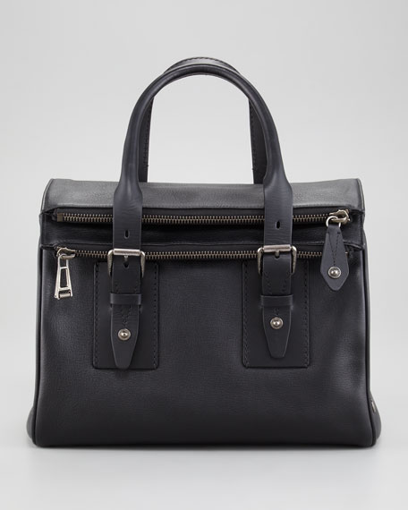 Dolton Goatskin Satchel Bag