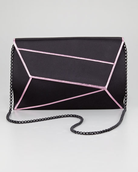 Matrix Asymmetric Envelope Clutch Bag