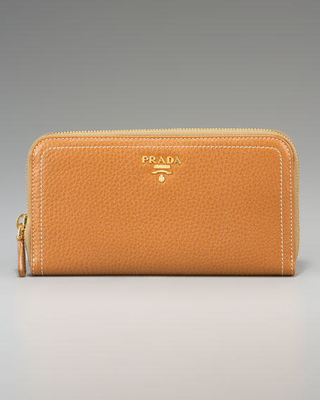 Vitello Daino Zip-Around Wallet