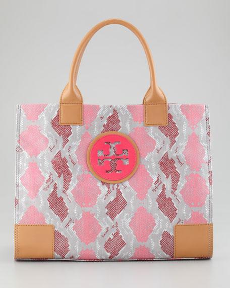 Ella Large Tote Bag, Carnation Red