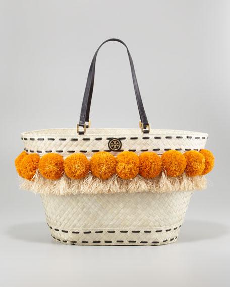 Beachy Norah Bucket Tote Bag, Golden Yellow