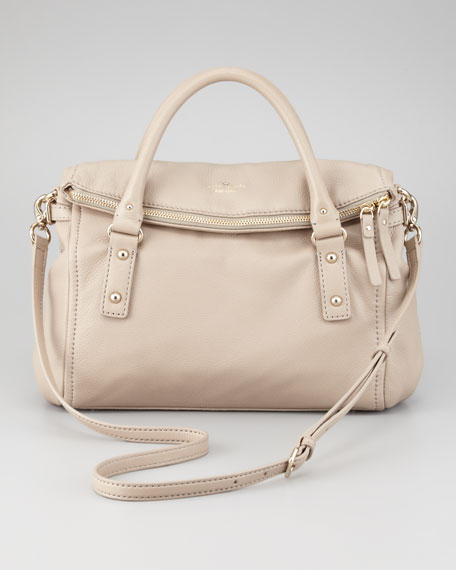 cobble hill leslie small satchel bag, oyster