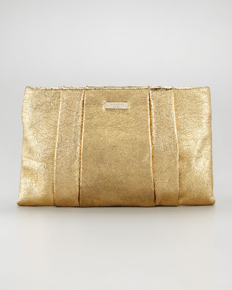 starlight drive april clutch bag, gold