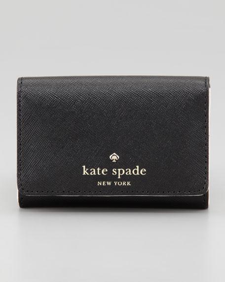 mikas pond darla small key wallet, black