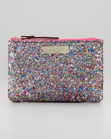 glitterball coin purse bag, multi