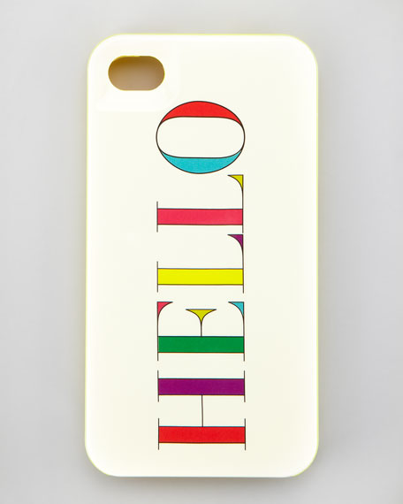 hello resin iPhone 4 case