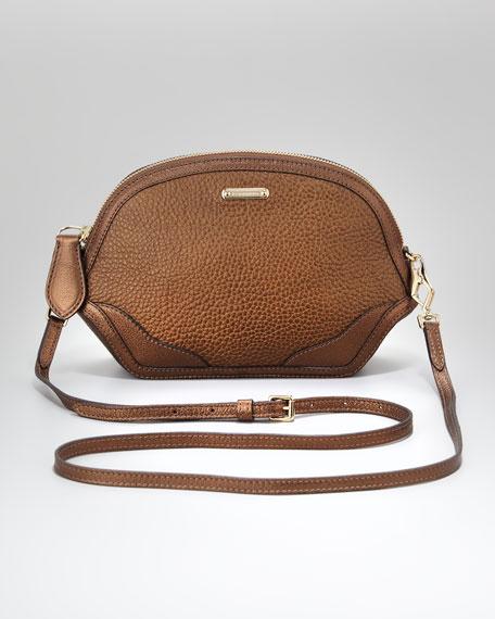 Extra Small Crossbody Bag, Antique Gold