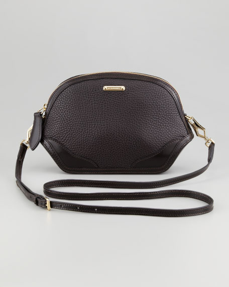 Extra Small Crossbody Bag, Dark Chocolate