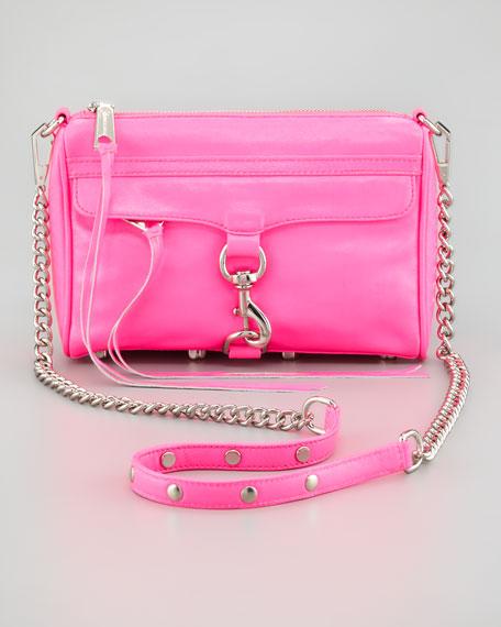 Mini M.A.C. Crossbody Bag, Hot Pink