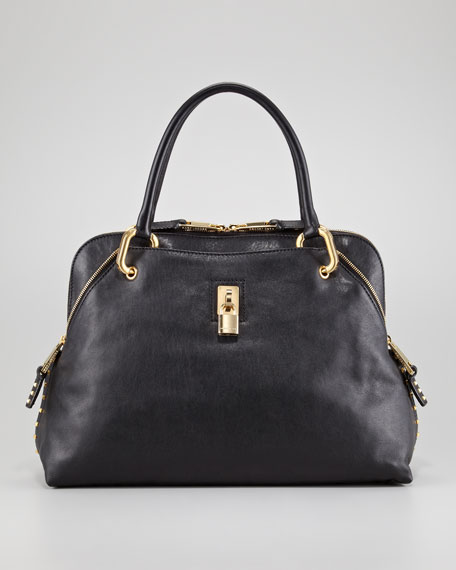Marc Jacobs Rio Large Stud-Trim Satchel