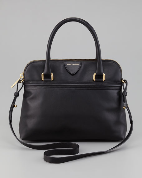Preston Convertible Handbag, Black