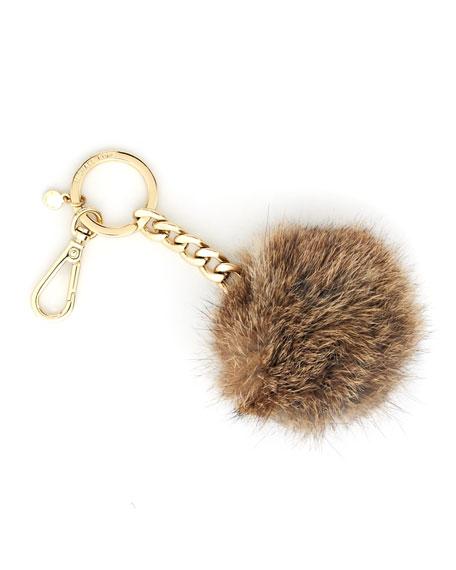 Fur-Pom Keychain