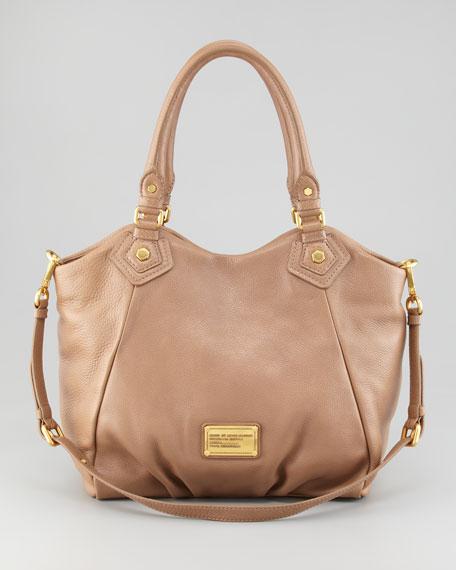 Classic Q Francesca Satchel Bag, Praline