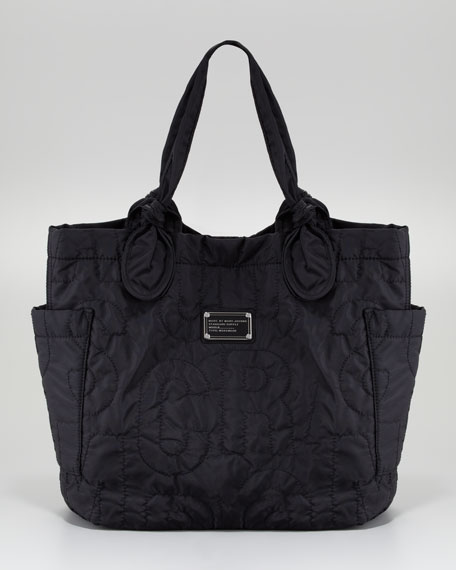 Pretty Nylon Tate Medium Tote Bag, Black