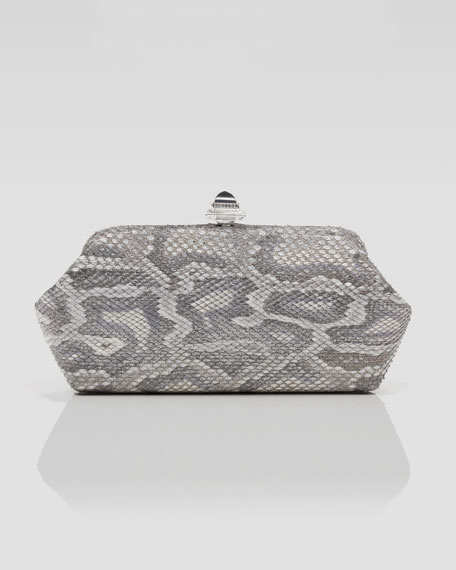 Whitman Python Clutch Bag