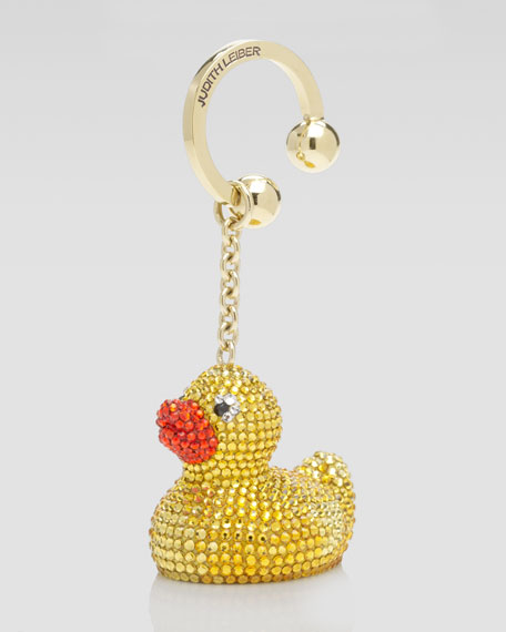 Rubber Duck Keychain