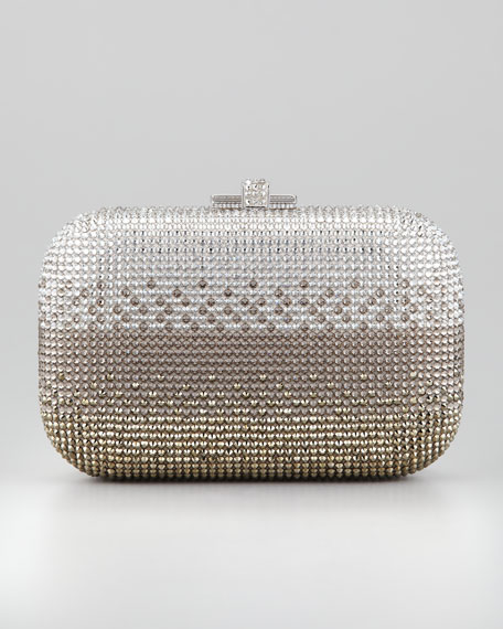 Ombre Crystal Clutch Bag