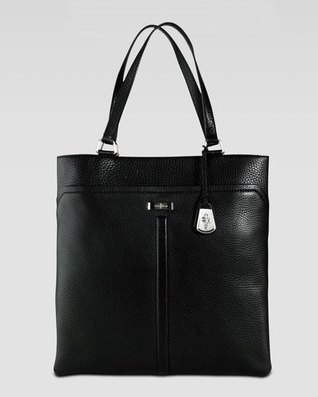 Village Marcy Market Tote Bag, Black
