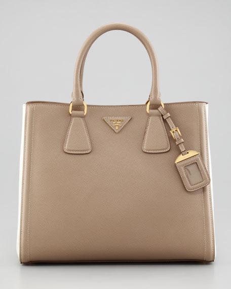 Saffiano  Bicolor Tote Bag