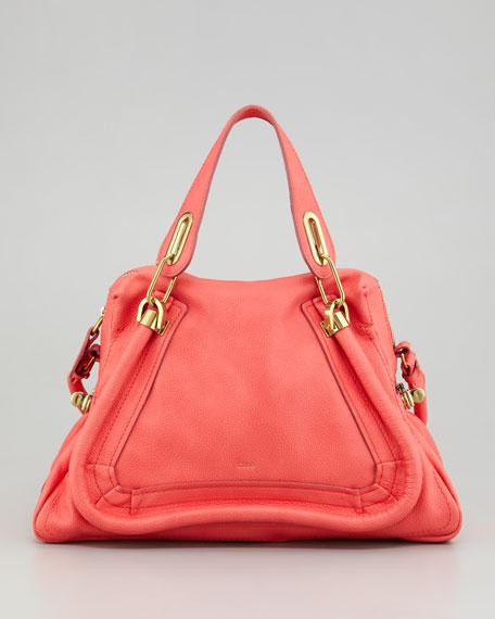 Paraty Medium Shoulder Bag, Paradise Pink