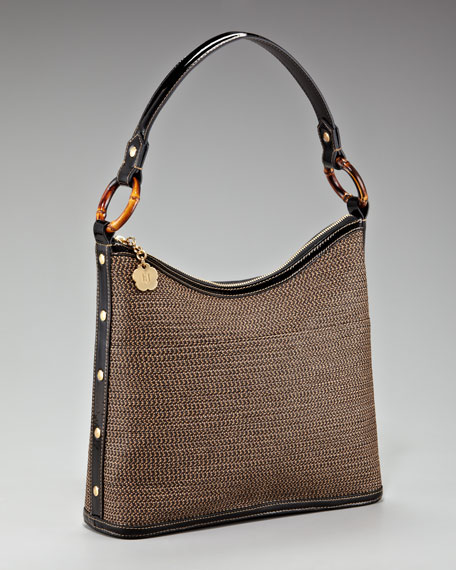 Bulu IV Hobo Bag, Antique/Black