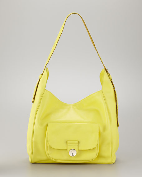 Maani Hobo Bag, Canary