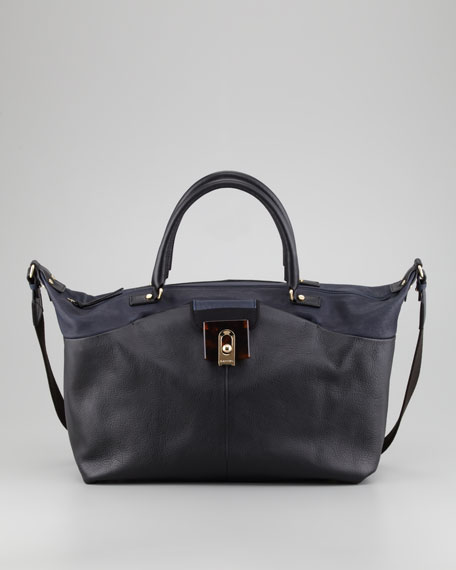 For Me Large Tote Bag, Midnight