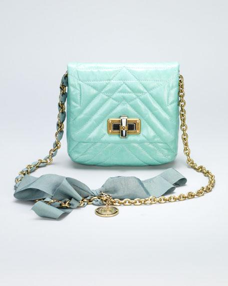Happy Mini Pop Crossbody Bag, Light Green
