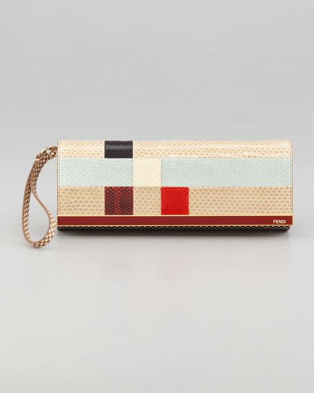 Rush Colorblock Clutch Bag