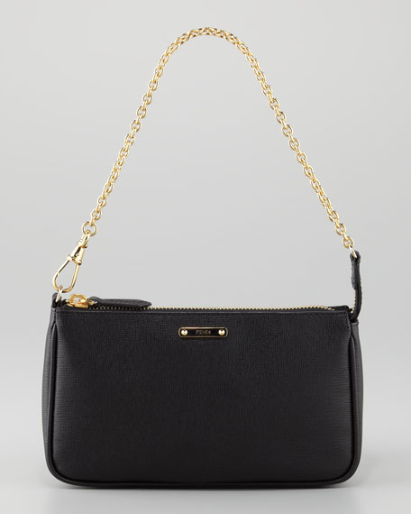 Crayon Pochette Bag, Black