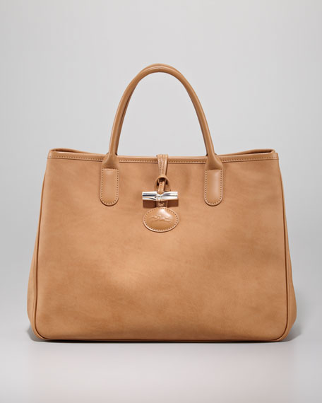 Roseau Large Tote Bag, Natural