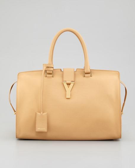 Cabas Medium Y Ligne Tote Bag, Natural
