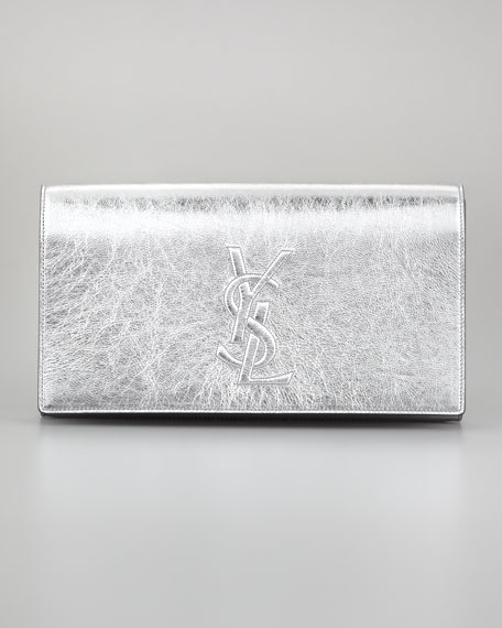 Belle De Jour Clutch Bag, Silver