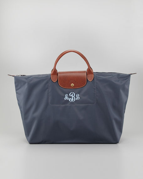 Le Pliage Monogrammed Travel Bag