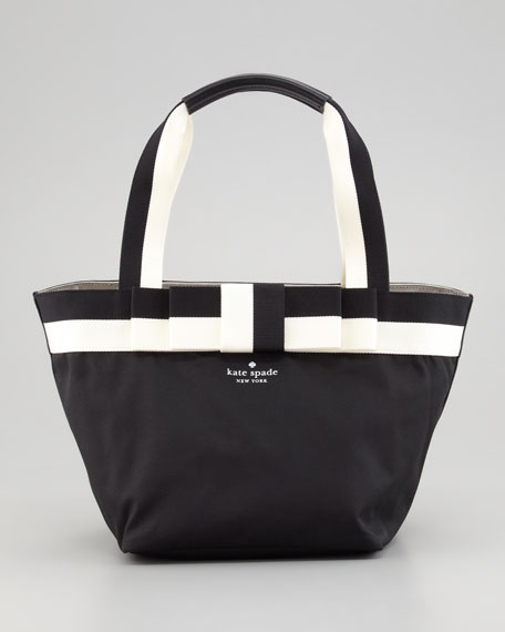barrow street garri tote bag, black