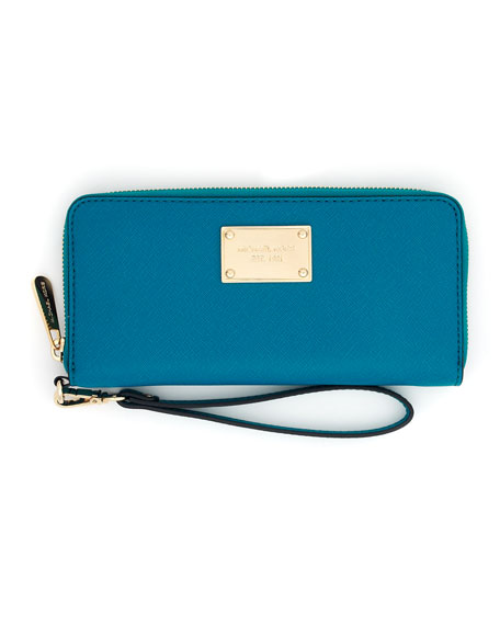 iPhone Continental Saffiano Wallet