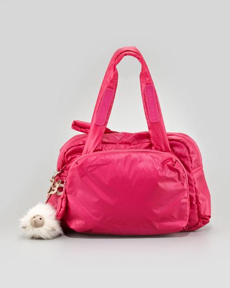 Joyrider Zipped Puffer Shoulder Bag, Pink