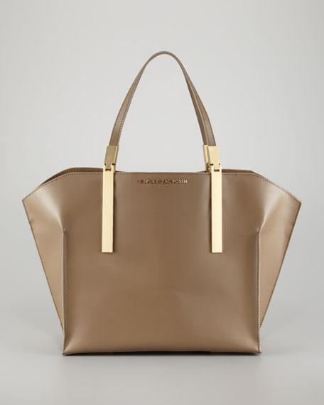 Small Shopper Tote Bag, Elephant