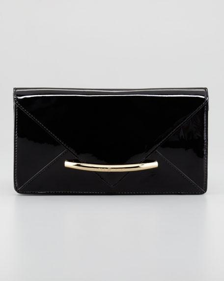 Marlene Envelope Clutch Bag, Black