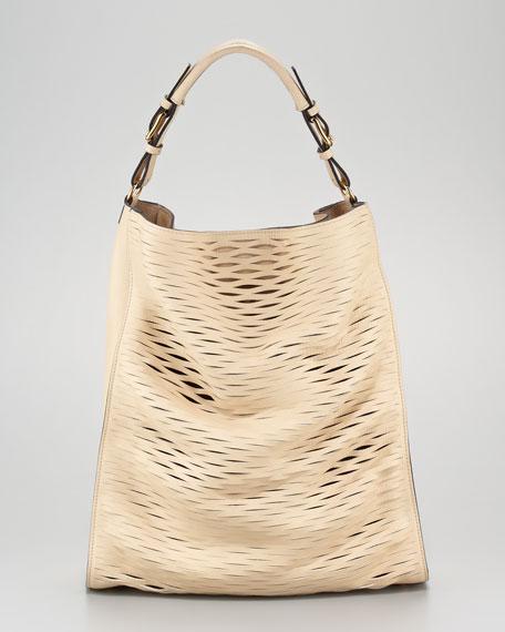 Laser-Cut Hobo Bag