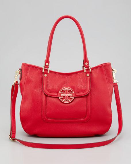 Amanda Classic Hobo Bag, Red