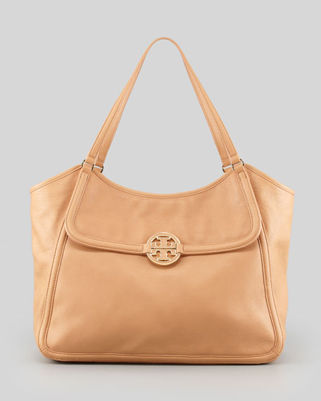 Amanda Slouchy Easy Tote Bag, Tan